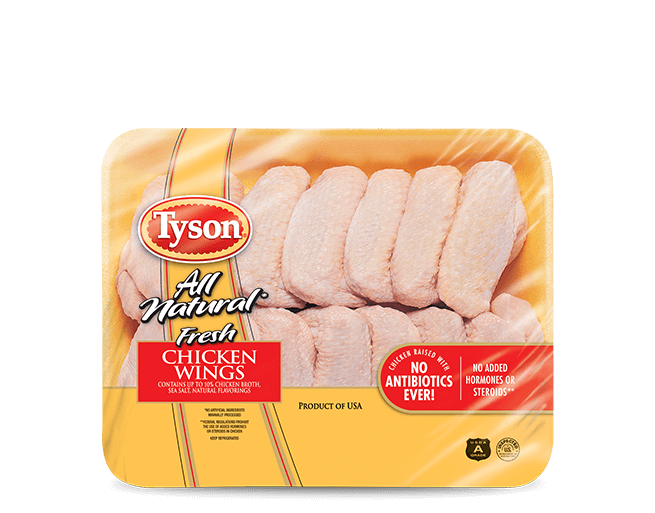 All Natural* Fresh Chicken Wings