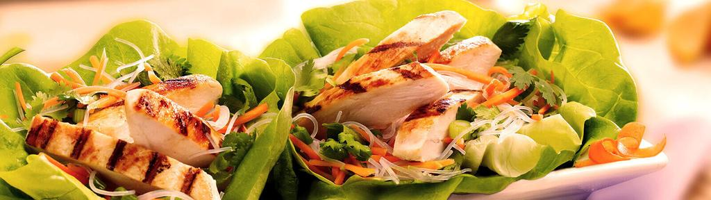 Chicken Fusion Lettuce Wraps