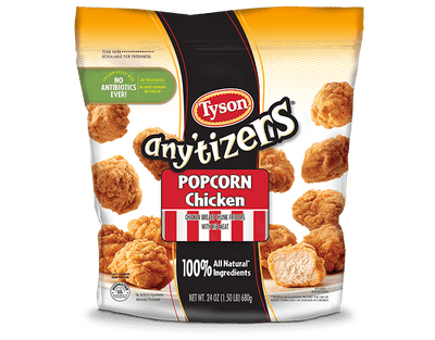 Any'tizers® Popcorn Chicken