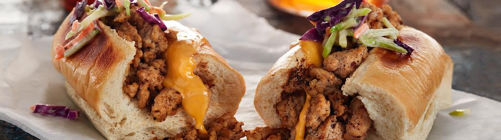 BBQ Ground Chicken Sandwich