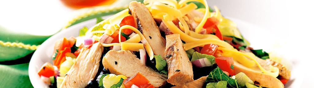 Southwest Chicken Fajita Salad