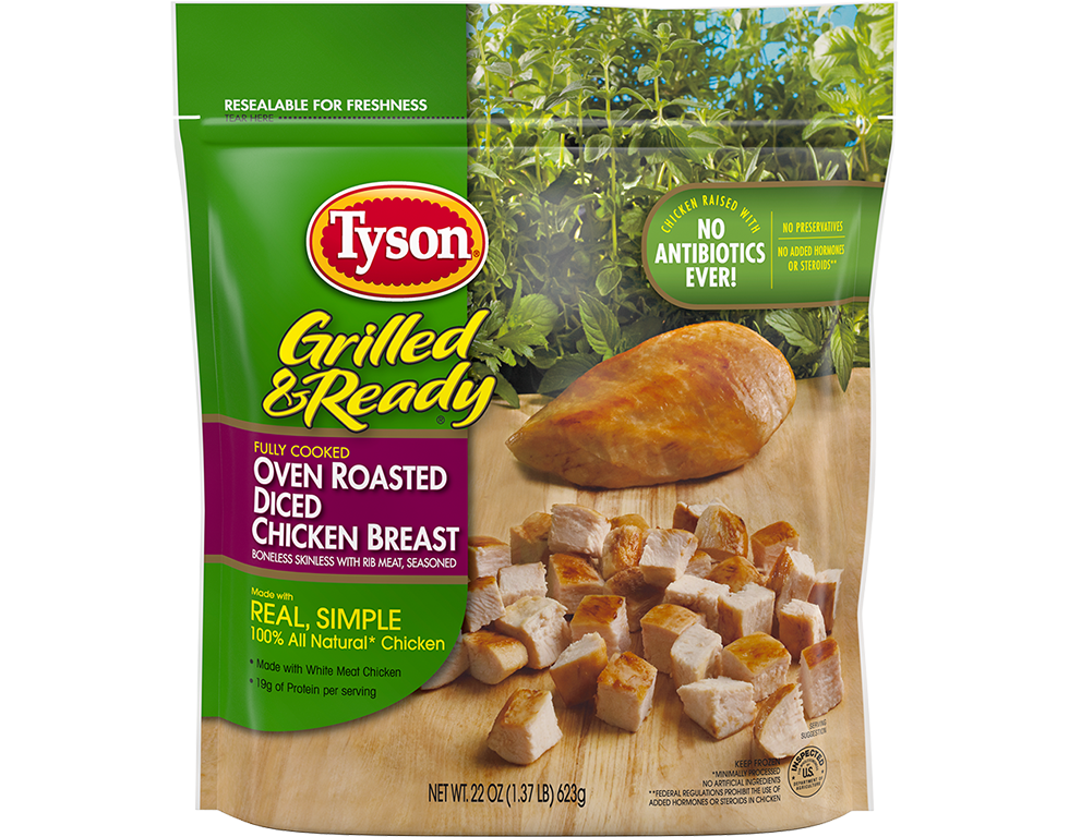 Grilled & Ready® Oven Roasted Diced Chicken Breast