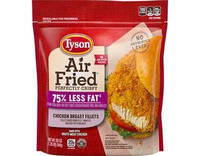 Air Fried Chicken Breast Fillets