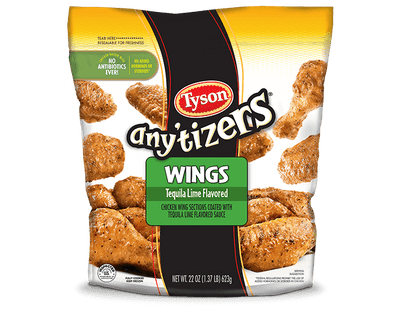 Any'tizers® Wings (Tequila Lime Flavored)
