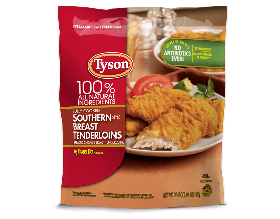 Southern Style Chicken Tenders Tyson Brand