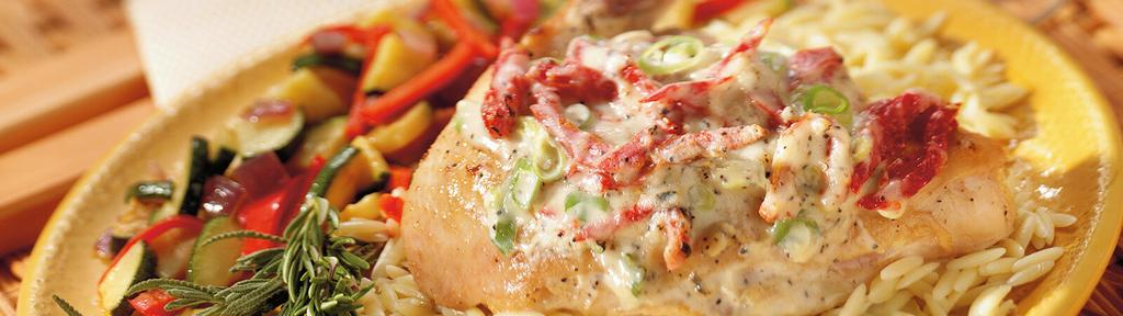Tomato and Cheese Baked Chicken