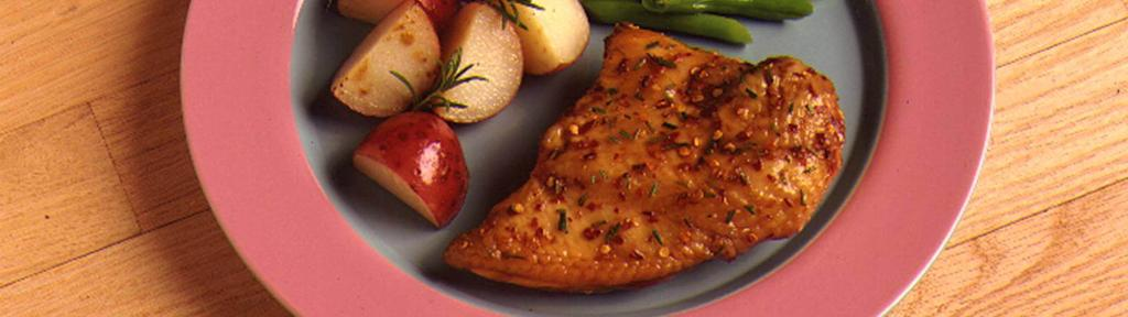 Honey Lemon Rosemary Chicken