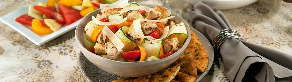 Summer Garden Salad with Chicken