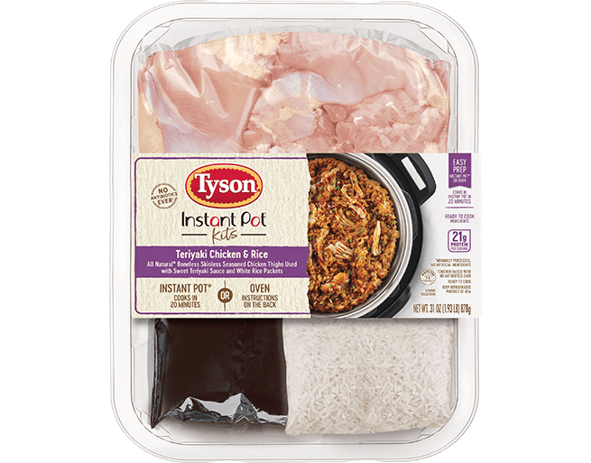 Instant Pot® Teriyaki Chicken & Rice