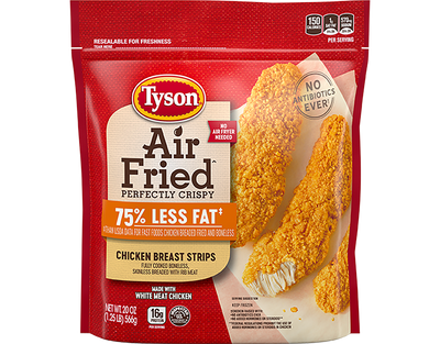 Air Fried Chicken Breast Strips