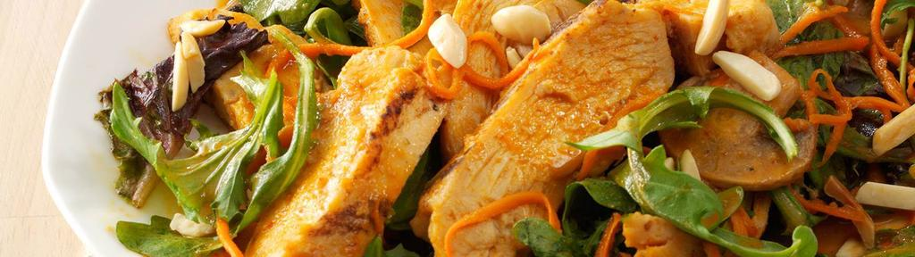 Spicy Sesame Salad with Chicken