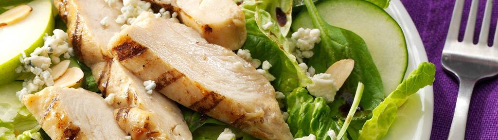 Chicken and Pear Salad with Gorgonzola